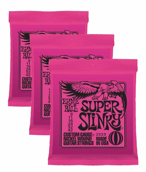 2223 Super Slinky 3-Pack Strings