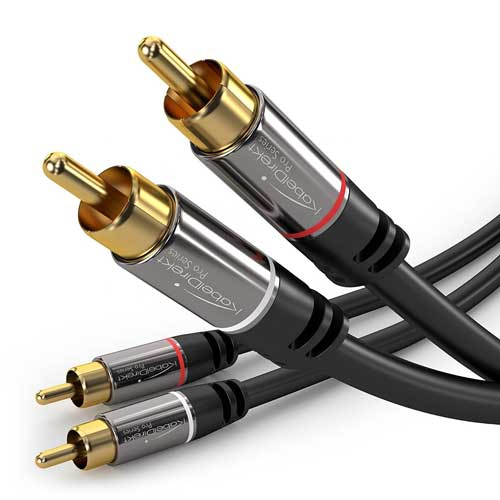 KabelDirekt RCA Stereo Cable