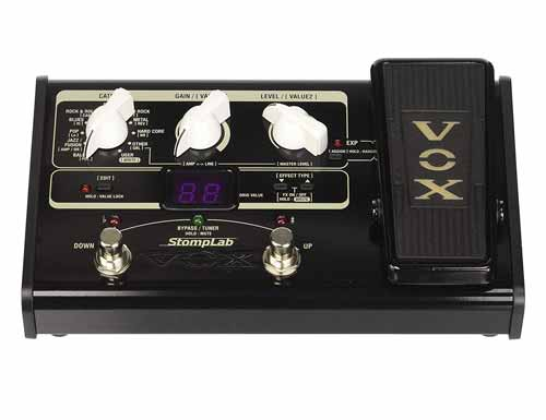 VOX STOMPLAB2G Modeling Guitar Multi-Effect Pedal