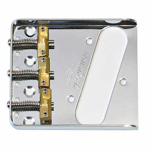 Wilkinson Chrome WTB Ashtray Bridge for Tele Guitars